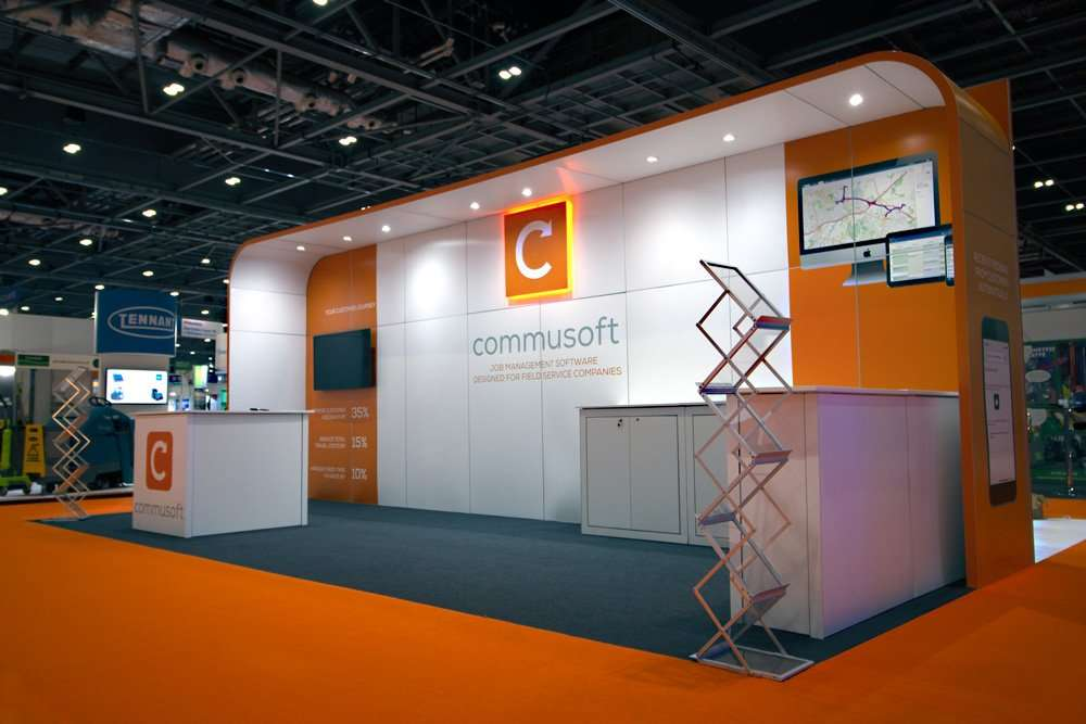 Commusoft Exhibition Stand