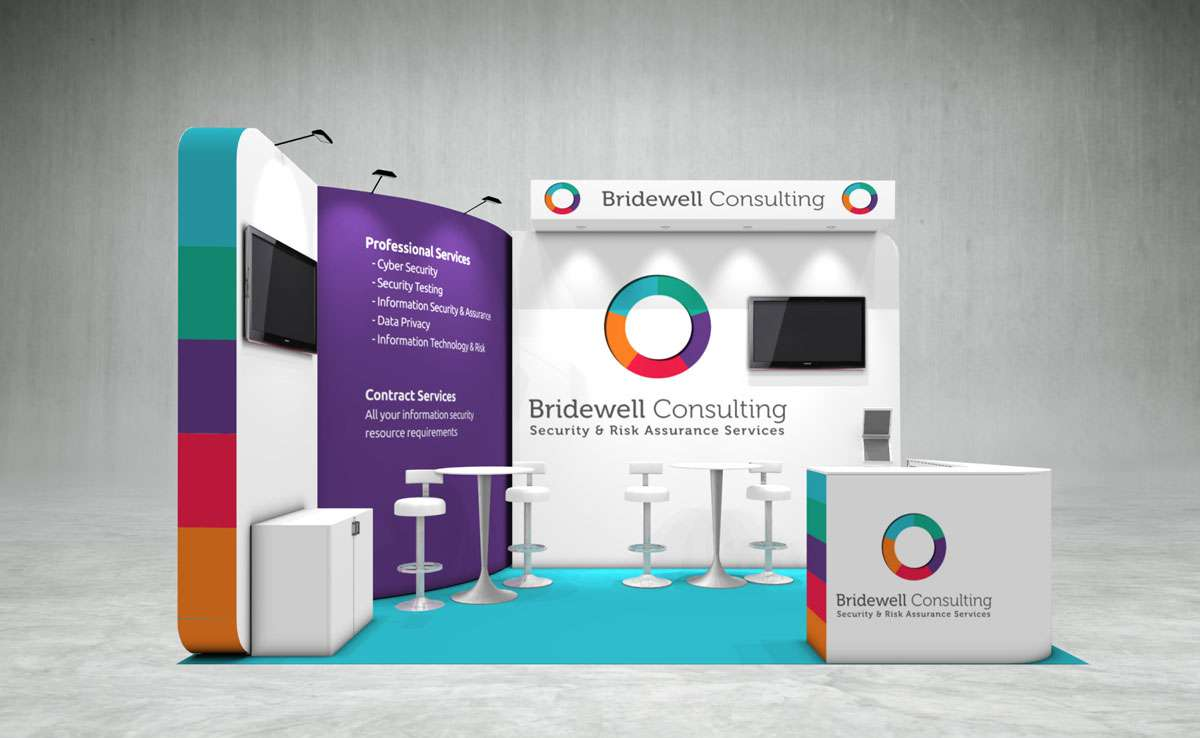 Bridewell Consulting Exhibition Stand