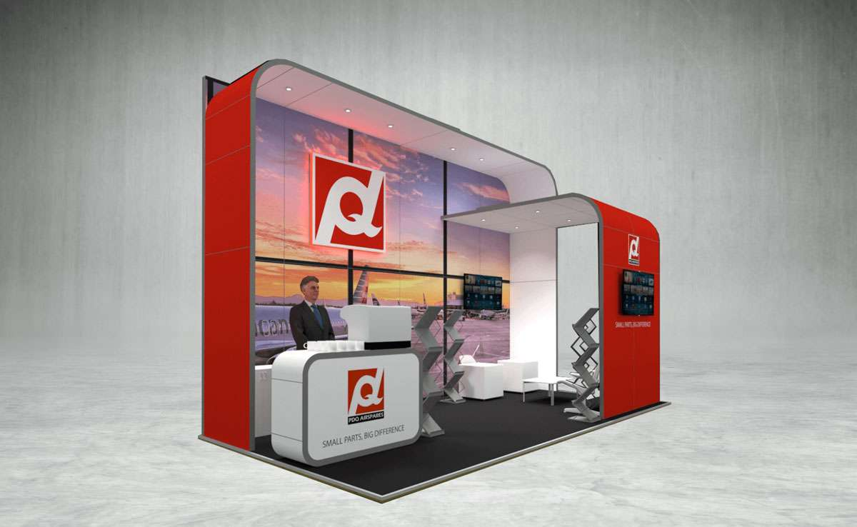 PDQ Exhibition Stand