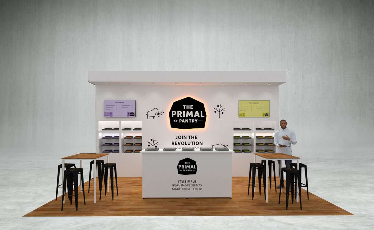 Primal Pantry Exhibition Stand