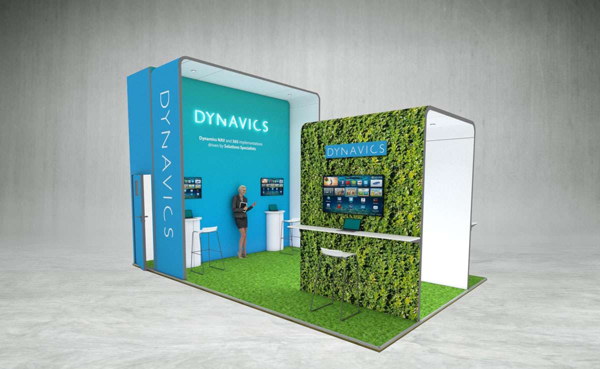 Dynavics Exhibition Stand