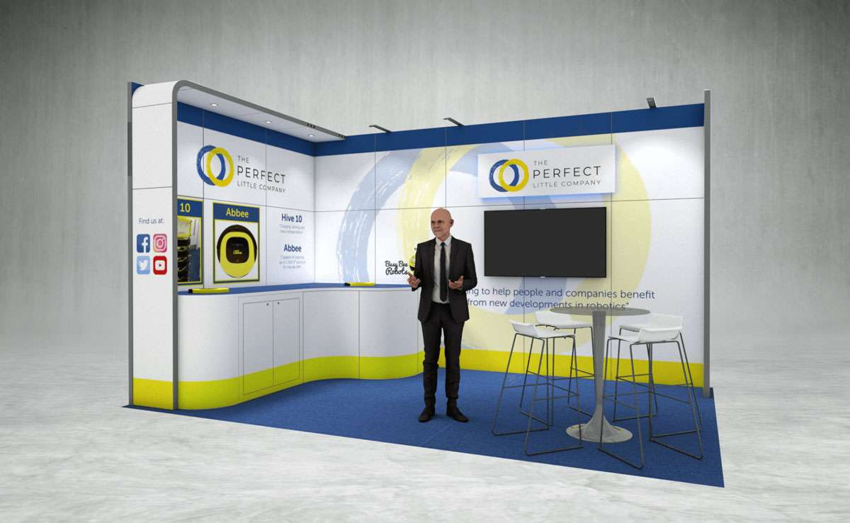 The Perfect Little Company Exhibition Stand