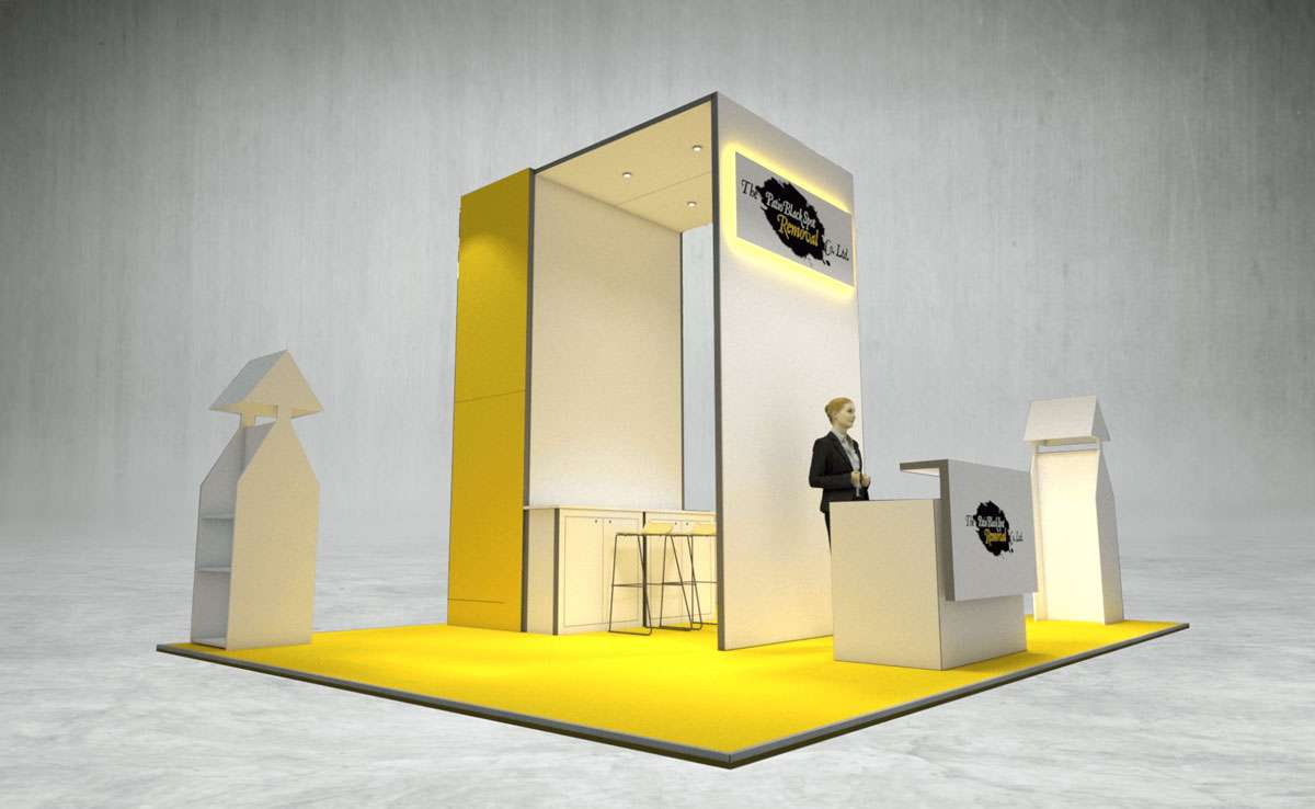 The Patio Black Spot Removal Company Exhibition Stand