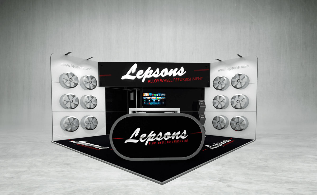 Lepsons Exhibition Stand