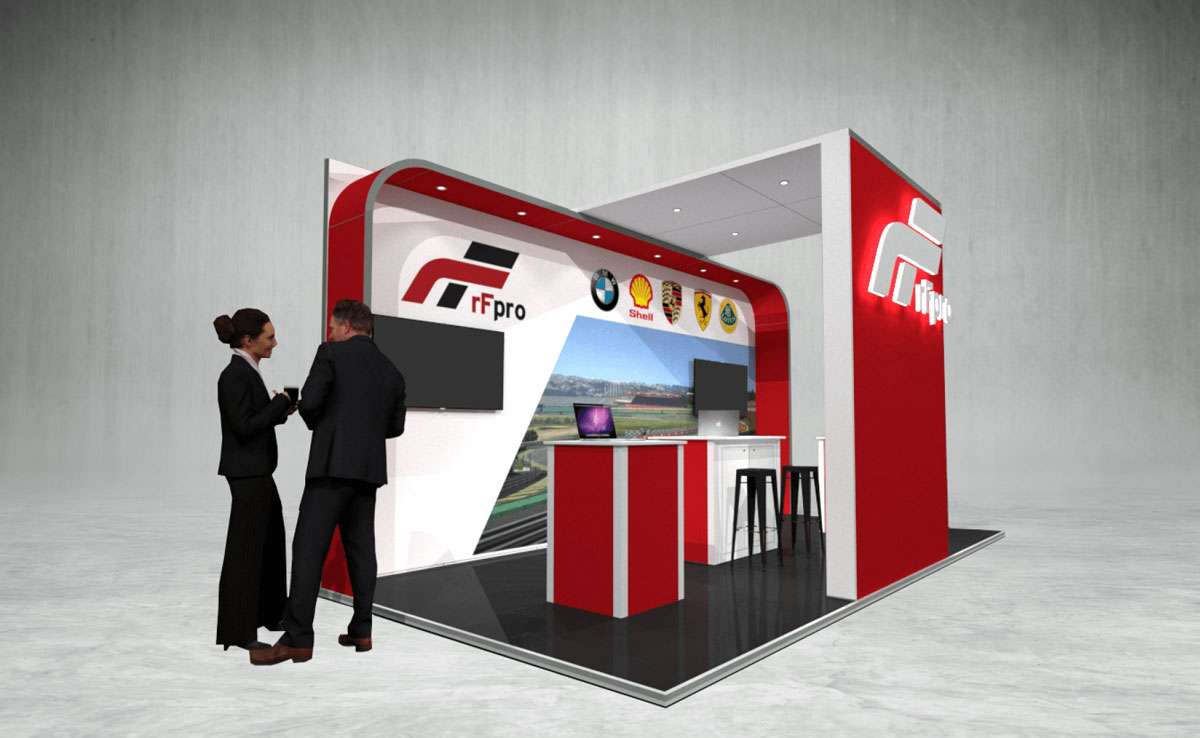 RF PRO Exhibition Stand