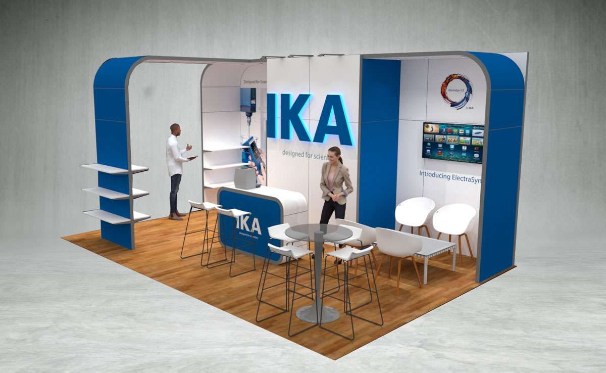 IKA Exhibition Stand