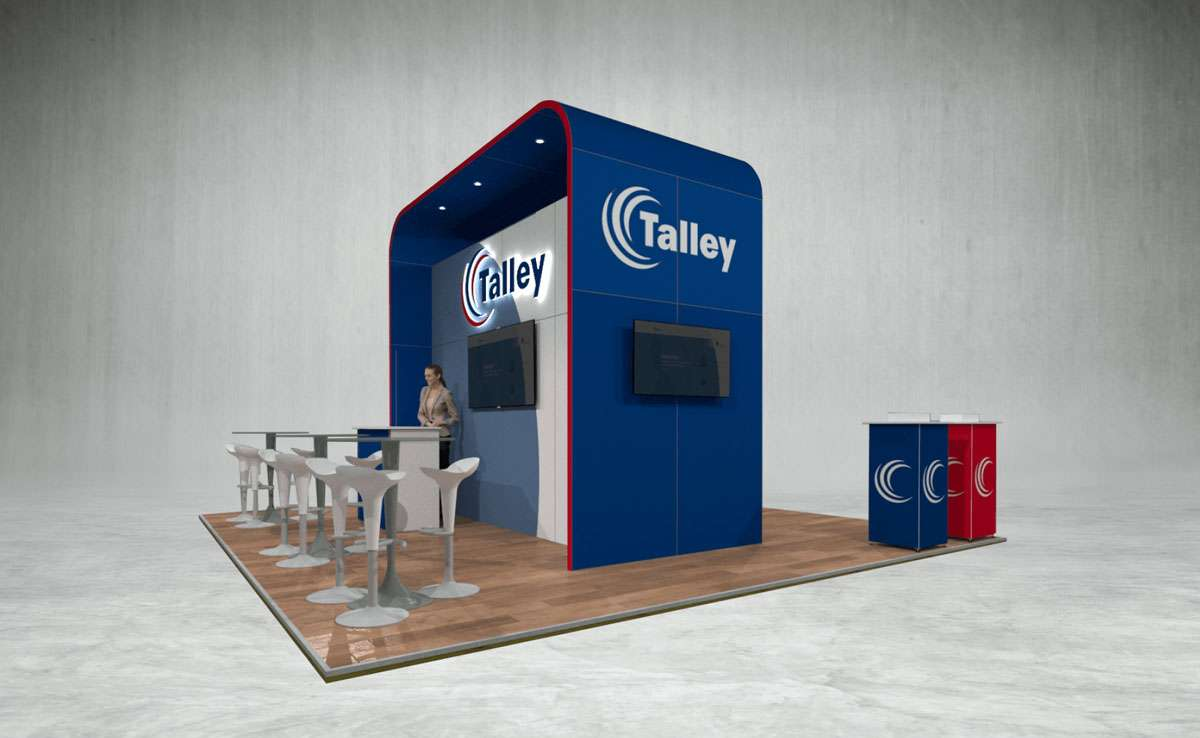 Talley Exhibition Stand