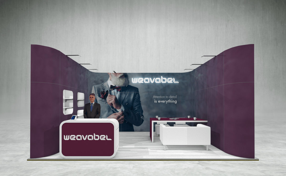 Weavabel Exhibition Stand