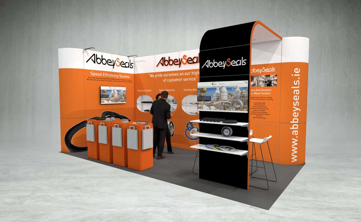 Abbey Seals Exhibition Stand