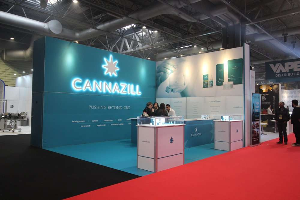 Cannazill Exhibition Stand
