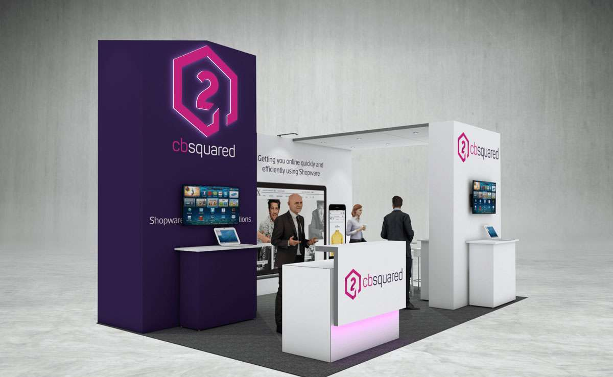 CB Squared Exhibition Stand