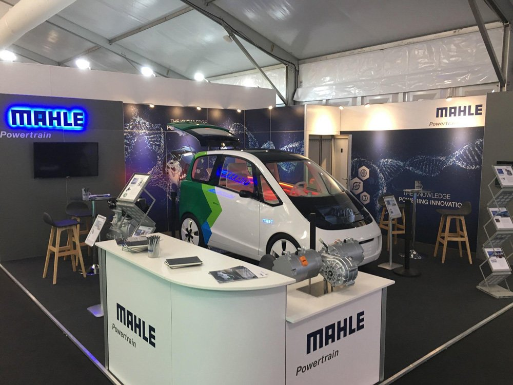Mahle Powertrain Exhibition Stand