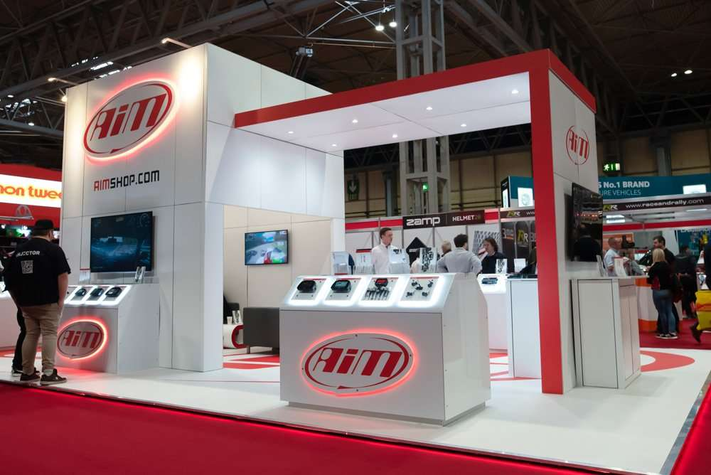 AIM Tech Exhibition Stand