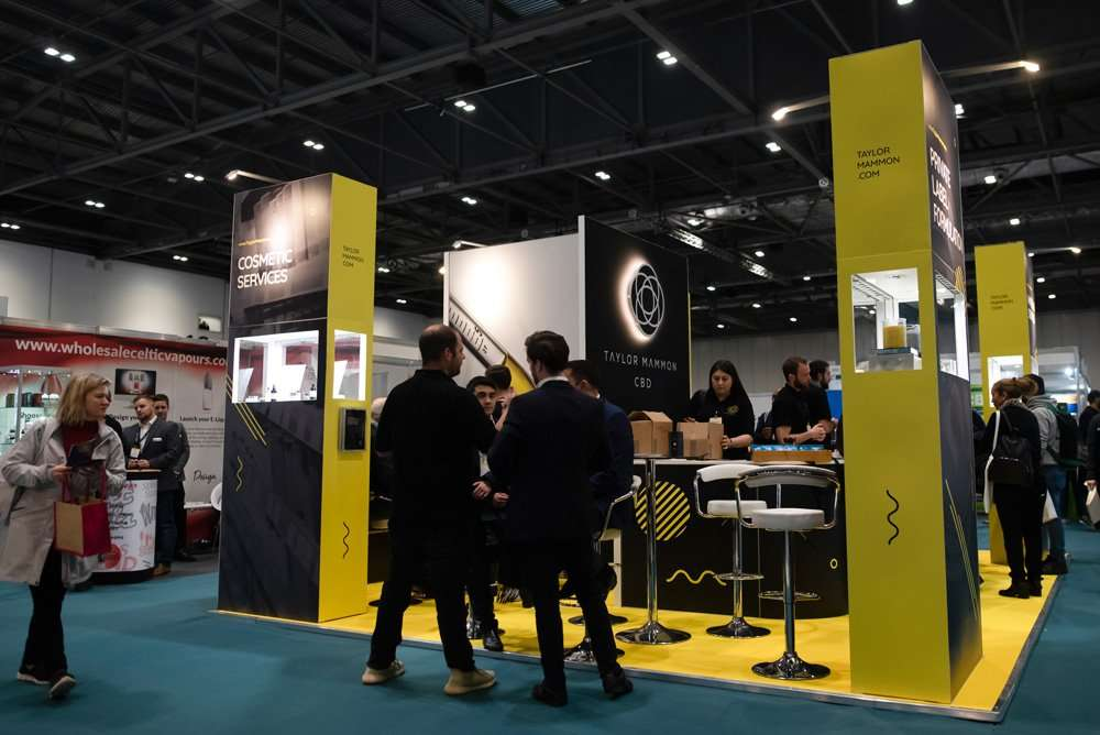 Taylor Mammon Exhibition Stand