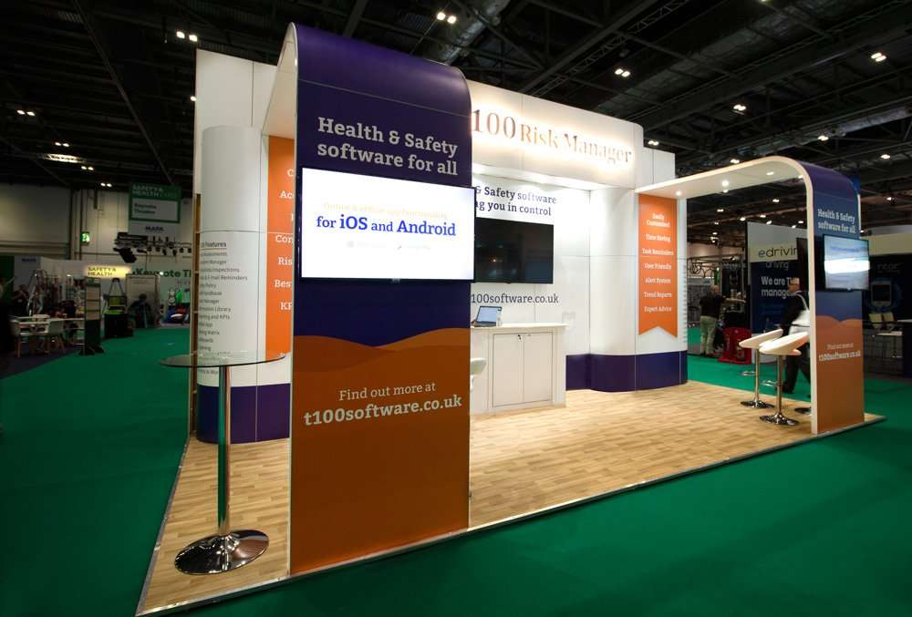 BSS Exhibition Stand