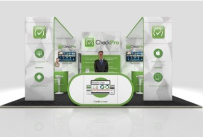 CheckPro exhibition stand