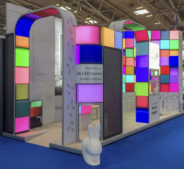 LED Video Wall Exhibition Stands