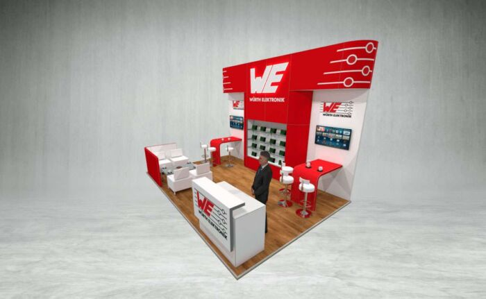 Wurth Elektroniks exhibition stand