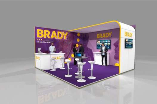 exhibition display stand hire