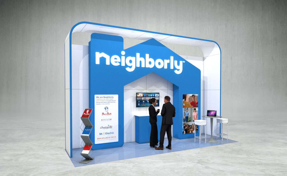 Neighborly Exhibition Stand