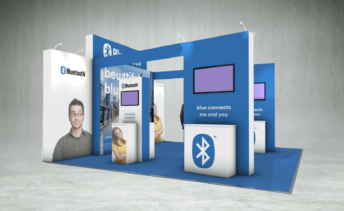 Bluetooth Exhibition Stand