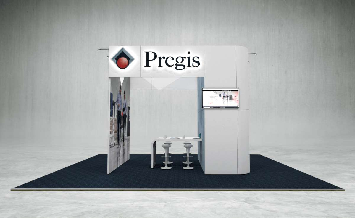 Pregis Exhibition Stand