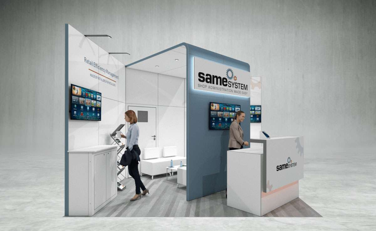 Same System Exhibition Stand