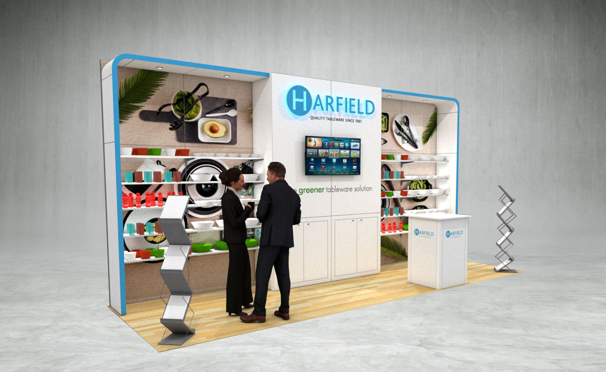 Harfield Exhibition Stand