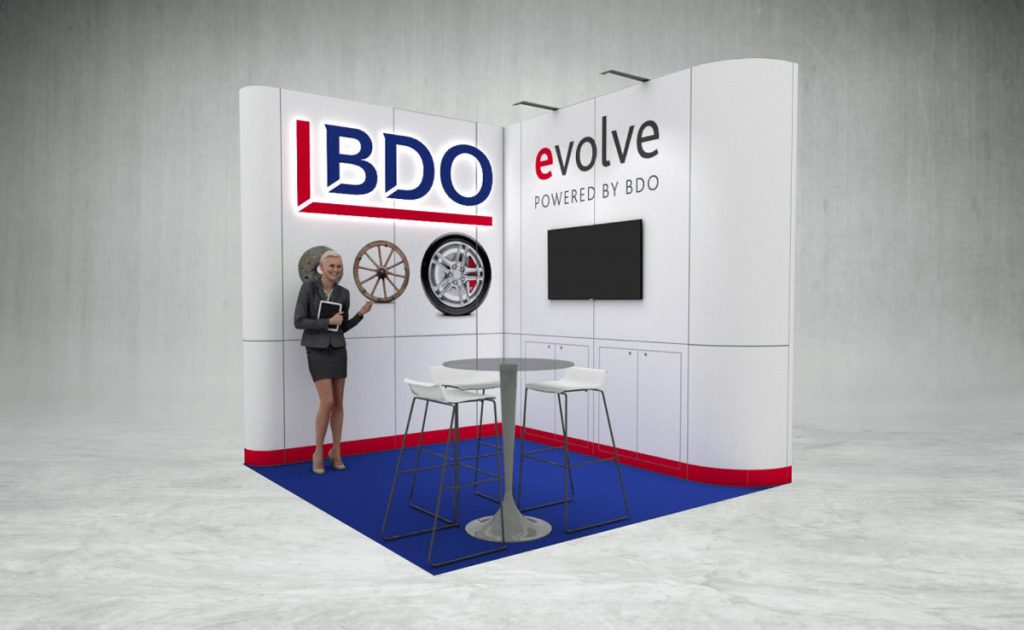 BDO Evolve Exhibition Stand
