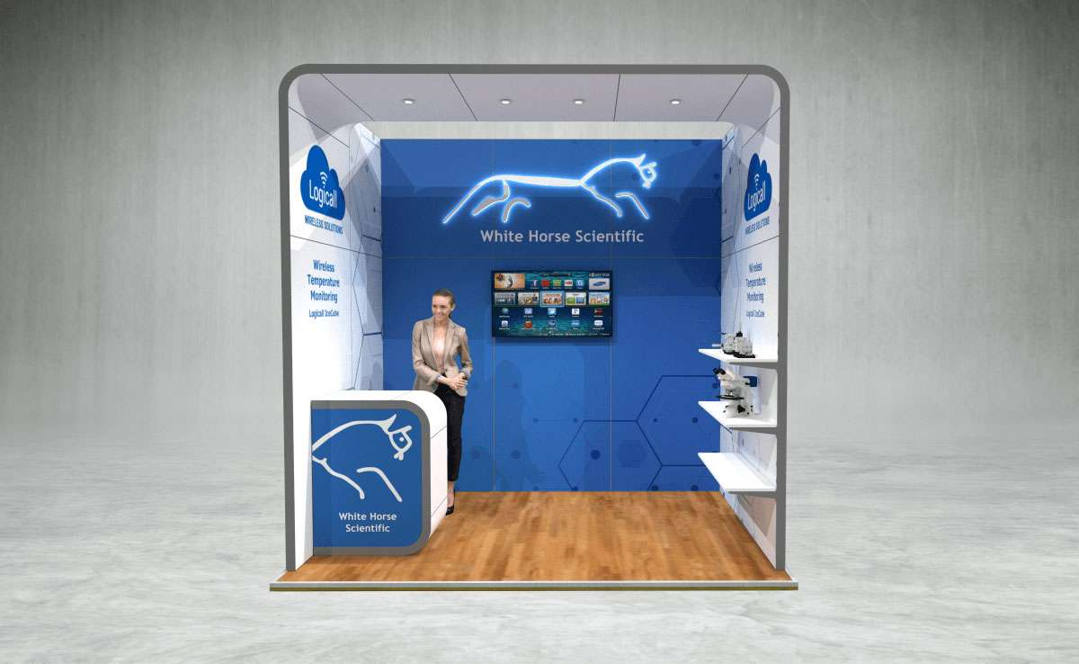 White Horse Exhibition Stand