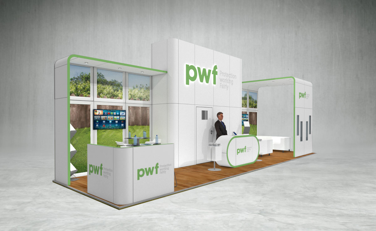 PWF Exhibition Stand