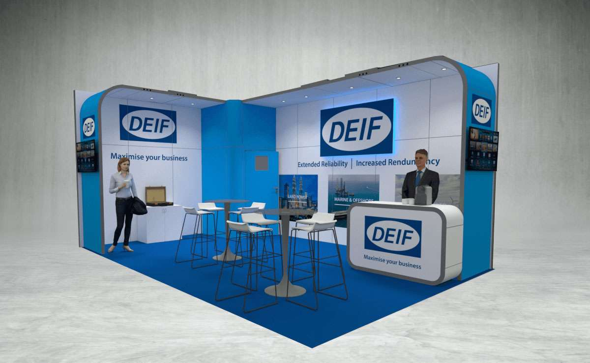 DEIF Exhibition Stand
