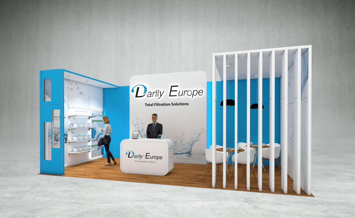 Darlly Europe Exhibition Stand