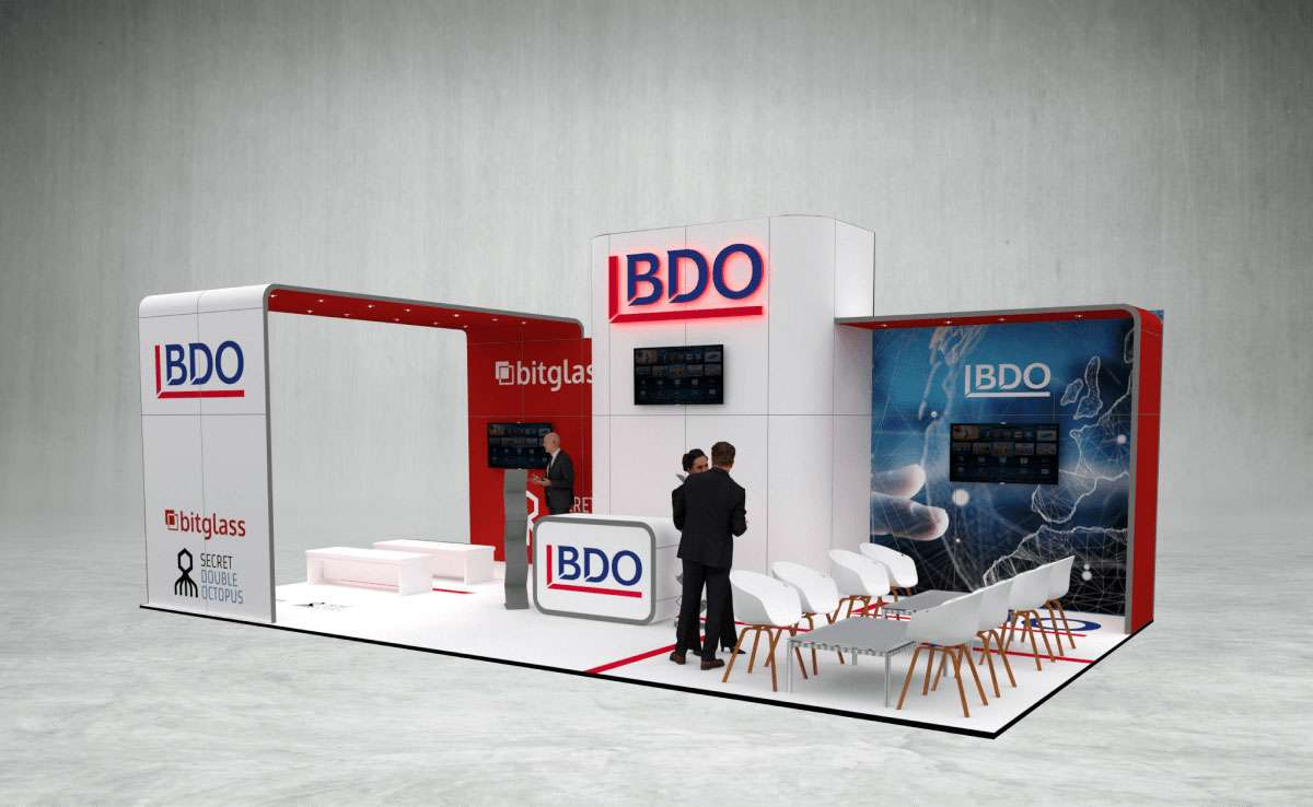BDO Exhibition Stand