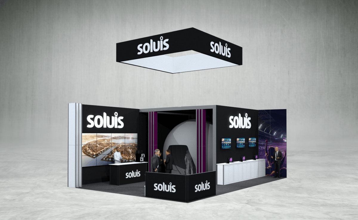 Soluis Exhibition Stand