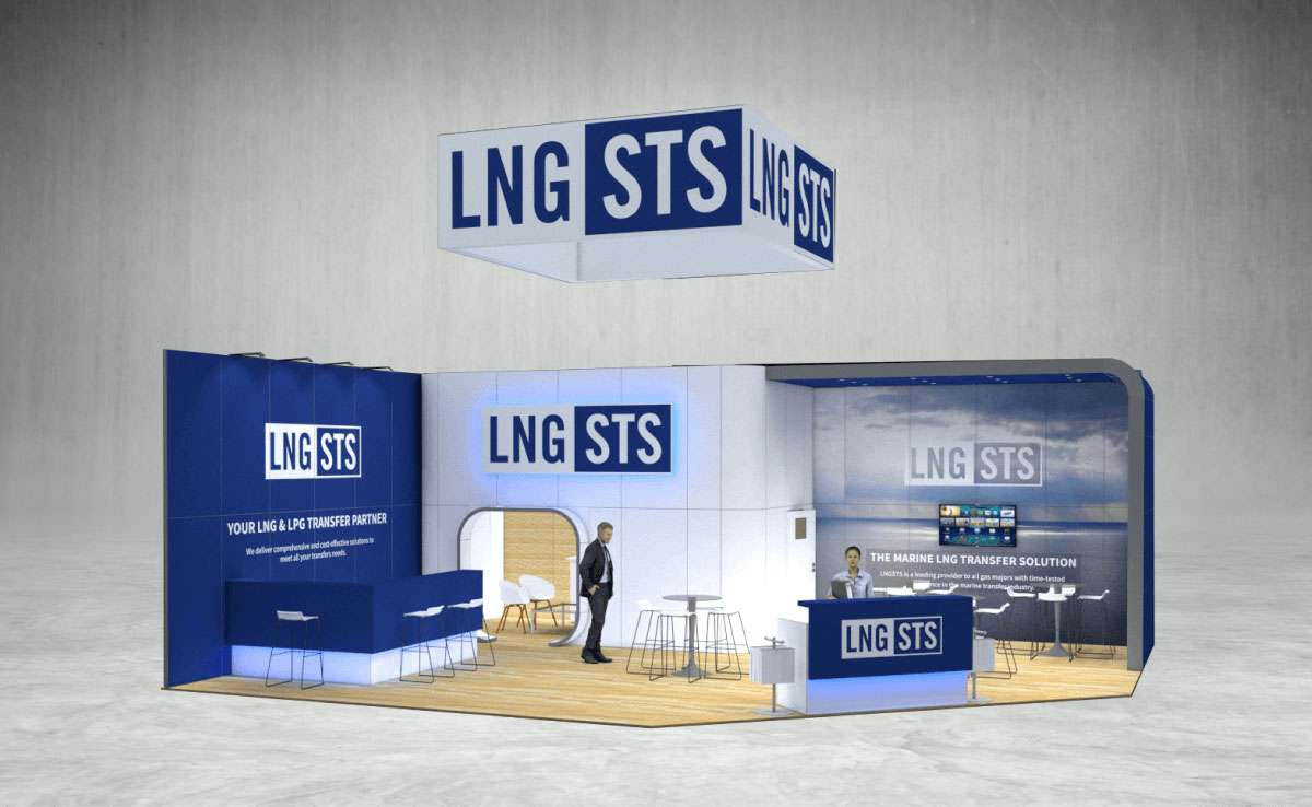 LNG STS Exhibition Stand
